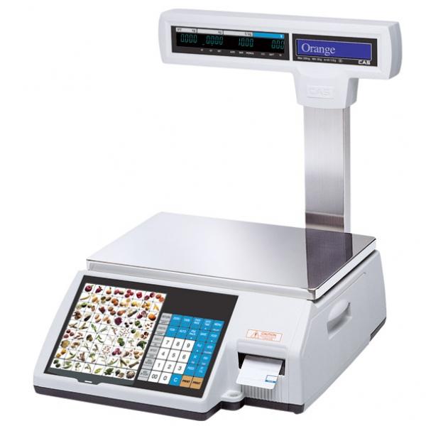 Весы с чекопечатью CAS CL-5000J(I)P